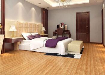 Gạch lát nền vân gỗ - Sự lựa chọn tuyệt vời cho phòng khách
