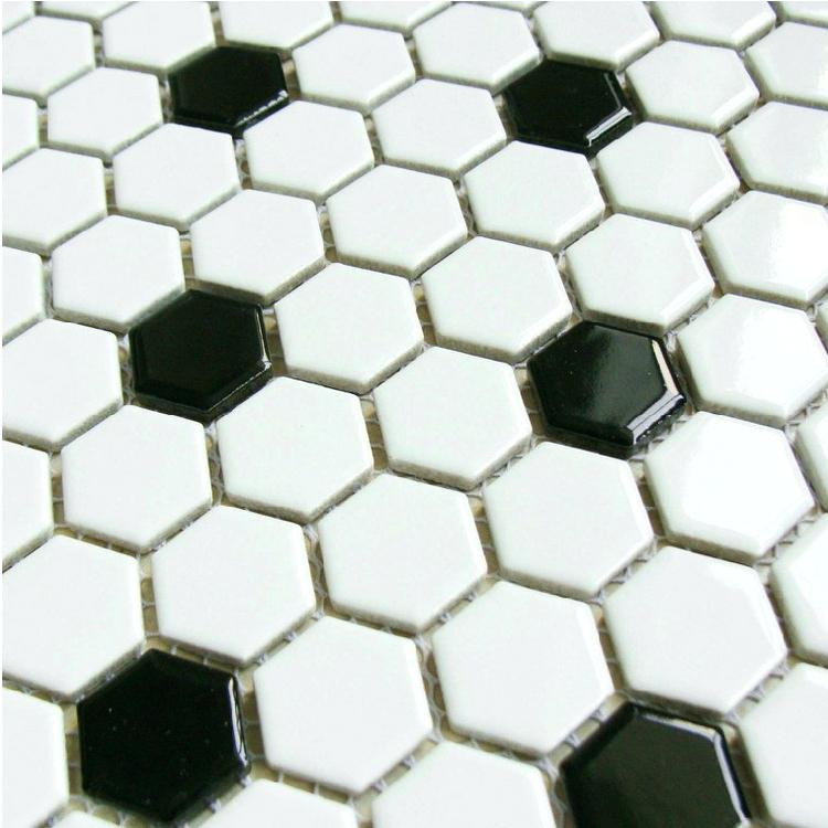 gạch mosaic lục giác