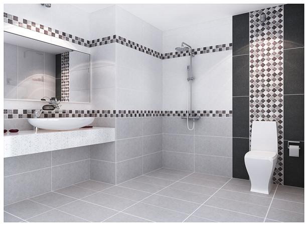 Lựa chọn gạch ốp lát cho nhà vệ sinh