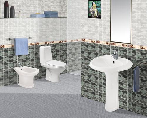 sử dụng gạch lát nền chống trơn cho khu vực nhà tắm