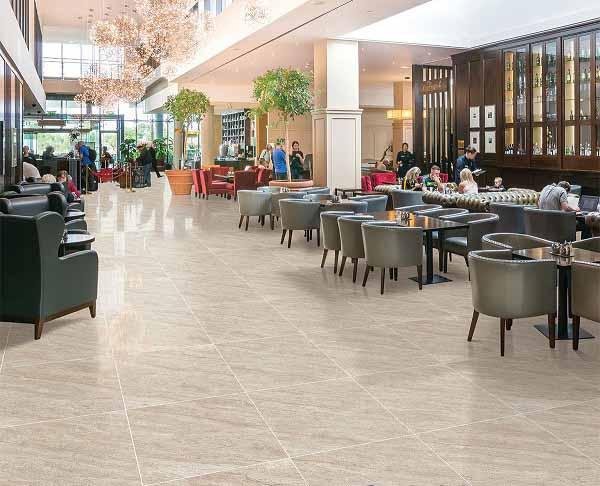 Gạch 80x80 thích hợp lát nền nhà hàng