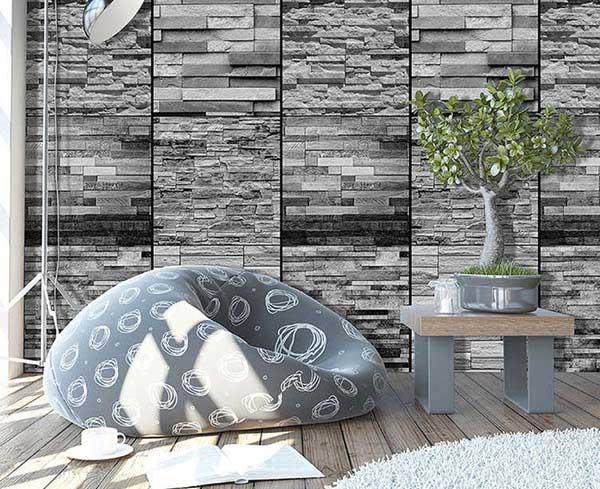 Kiến tạo không gian độc đáo với gạch ốp tường cổ điển
