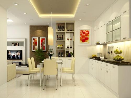 5 mẫu gạch lát nền nhà bếp cho phong cách hiện đại