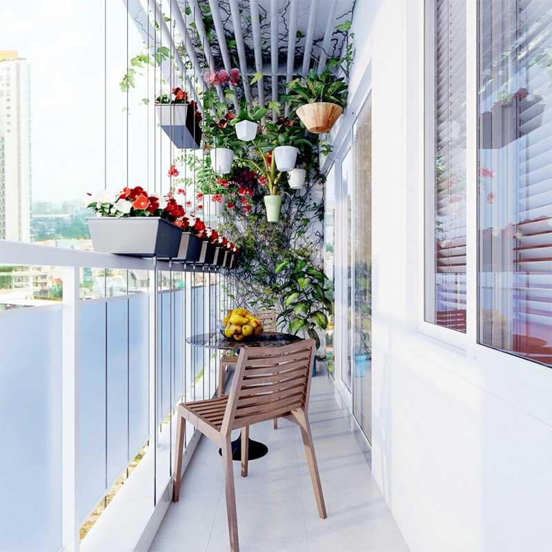Cách thiết kế cây xanh trong nhà