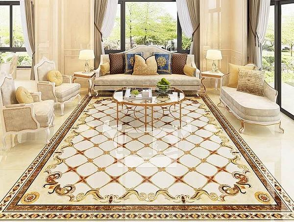100+ mẫu gạch thảm lát nền phòng khách đẹp - ấn tượng nhất 2021 6
