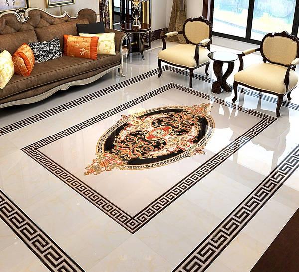 100+ mẫu gạch thảm lát nền phòng khách đẹp - ấn tượng nhất 2021 7