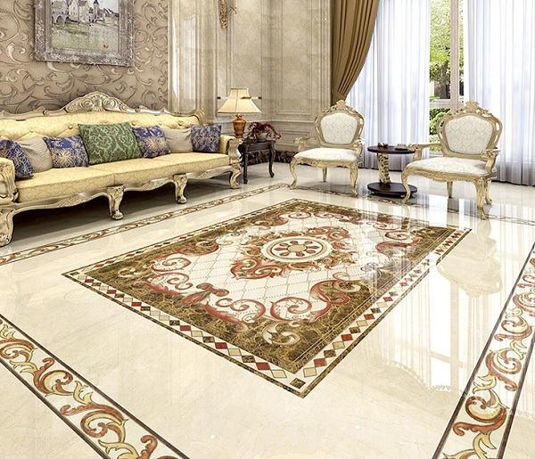 100+ mẫu gạch thảm lát nền phòng khách đẹp - ấn tượng nhất 2021 8