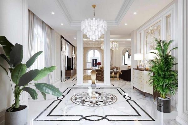 100+ mẫu gạch thảm lát nền phòng khách đẹp - ấn tượng nhất 2021 9