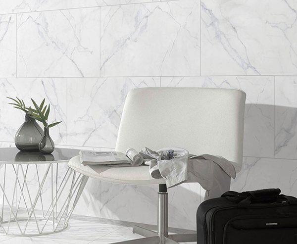 101 mẫu gạch ốp phòng khách màu trắng đẹp hottrend 2021 1