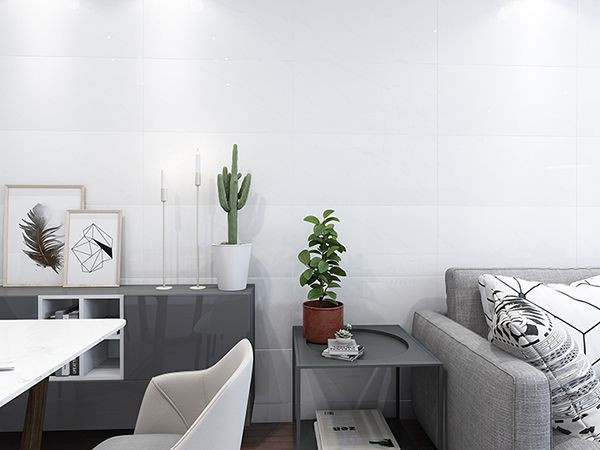 101 mẫu gạch ốp phòng khách màu trắng đẹp hottrend 2021 3