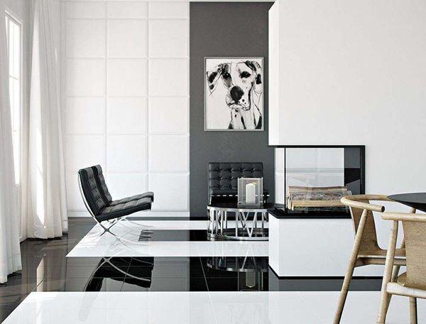 101 mẫu gạch ốp phòng khách màu trắng đẹp hottrend 2021 9