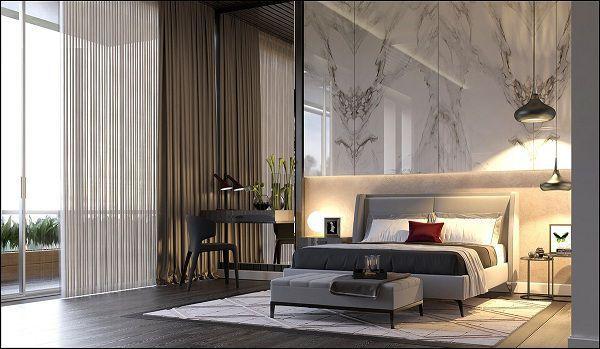 99 mẫu gạch ốp phòng ngủ đẹp vân gỗ, vân đá, 3D,..nên chọn 2021 10