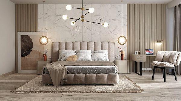 99 mẫu gạch ốp phòng ngủ đẹp vân gỗ, vân đá, 3D,..nên chọn 2021 11