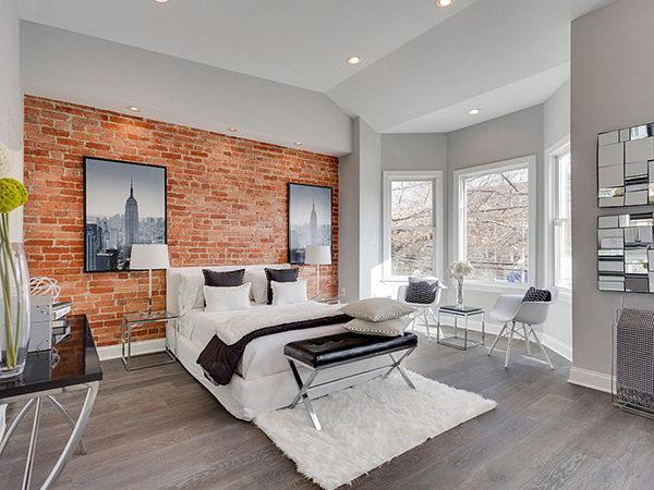 99 mẫu gạch ốp phòng ngủ đẹp vân gỗ, vân đá, 3D,..nên chọn 2021 16