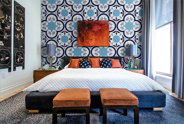 99 mẫu gạch ốp phòng ngủ đẹp vân gỗ, vân đá, 3D,..nên chọn 2021 20