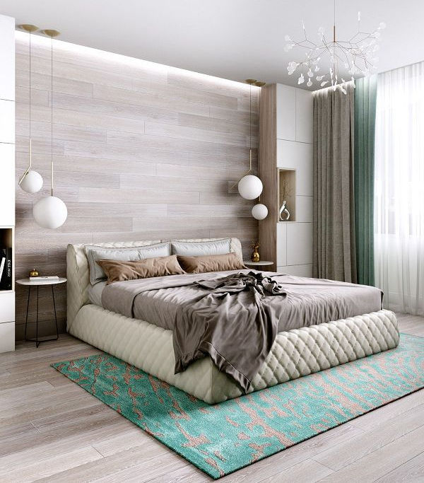 99 mẫu gạch ốp phòng ngủ đẹp vân gỗ, vân đá, 3D,..nên chọn 2021 3