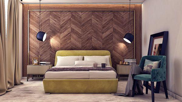 99 mẫu gạch ốp phòng ngủ đẹp vân gỗ, vân đá, 3D,..nên chọn 2021 5