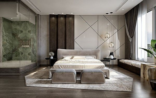 99 mẫu gạch ốp phòng ngủ đẹp vân gỗ, vân đá, 3D,..nên chọn 2021 8