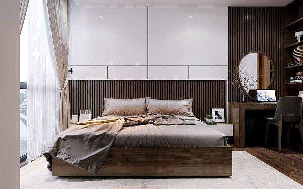 99 mẫu gạch ốp phòng ngủ đẹp vân gỗ, vân đá, 3D,..nên chọn 2021 9