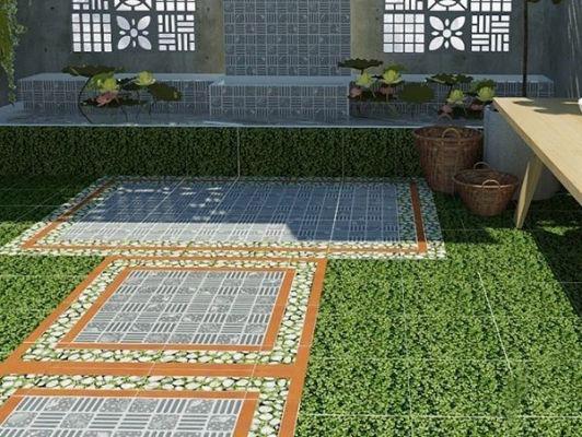 BST 20+ mẫu gạch lát sân vườn biệt thự đẹp, chống trơn tốt nhất 2021 2
