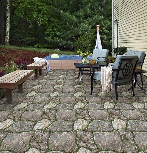 BST 20+ mẫu gạch lát sân vườn biệt thự đẹp, chống trơn tốt nhất 2021 6