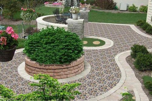 BST 20+ mẫu gạch lát sân vườn biệt thự đẹp, chống trơn tốt nhất 2021 9