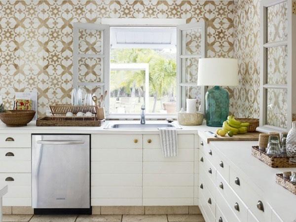 BST gạch bông ốp tường phòng bếp và Mẹo trang trí cực đỉnh 13