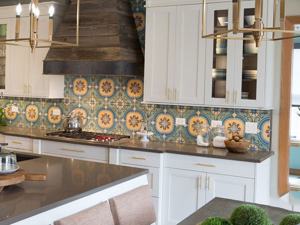 BST gạch bông ốp tường phòng bếp và Mẹo trang trí cực đỉnh 15