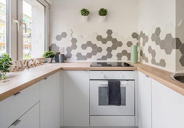 BST gạch bông ốp tường phòng bếp và Mẹo trang trí cực đỉnh 29