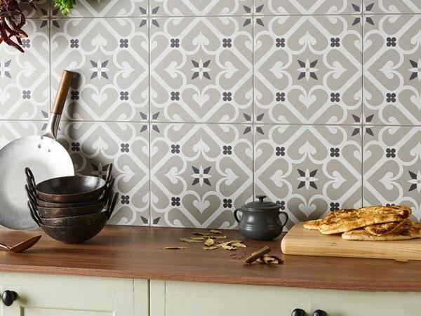 BST gạch bông ốp tường phòng bếp và Mẹo trang trí cực đỉnh 4