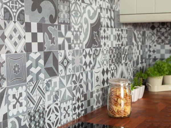 BST gạch bông ốp tường phòng bếp và Mẹo trang trí cực đỉnh 6