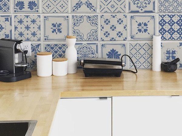 BST gạch bông ốp tường phòng bếp và Mẹo trang trí cực đỉnh 8
