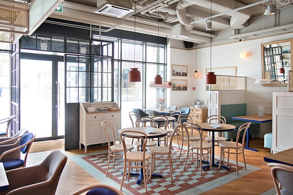 Bật mí 5 xu hướng gạch lát nền quán cafe lên ngôi năm 2021 10