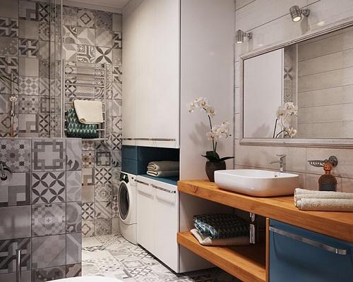 TOP 50+ mẫu gạch ốp nhà tắm đẹp được yêu thích năm 2021 5