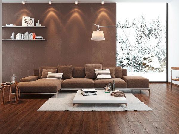Xu hướng chọn màu gạch lát nền phòng khách đẹp 2021 3