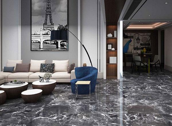 Xu hướng chọn màu gạch lát nền phòng khách đẹp 2021 6
