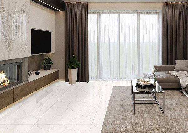 BST mẫu gạch lát nền màu trắng vân đá đẹp - sang nên chọn 4