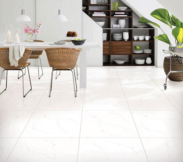 BST mẫu gạch lát nền màu trắng vân đá đẹp - sang nên chọn 8