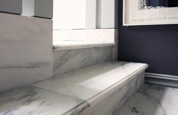 BST mẫu gạch lát nền màu trắng vân đá đẹp - sang nên chọn 9