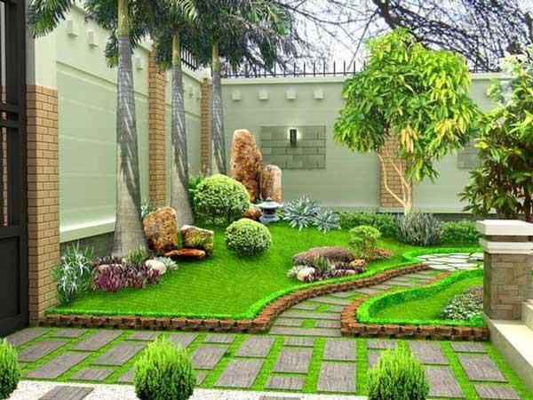 Sân vườn đẹp nhà cấp 4 - những lưu ý cần biết khi thiết kế 2