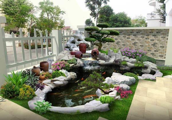 Sân vườn đẹp nhà cấp 4 - những lưu ý cần biết khi thiết kế 3